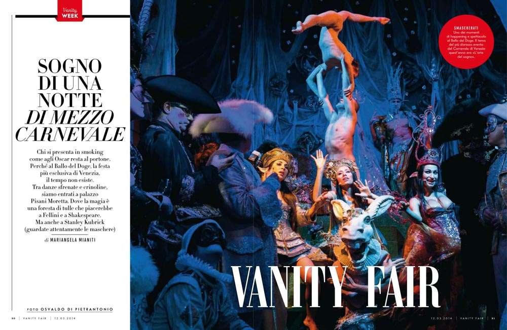 Vanity Fair- Osvaldo Di Pietrantonio Fotografo